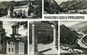 Romania Cozia monastery and surroundings