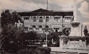 Chihuahua Mexico Postcard Tarjeta Postal Teatrordes los Heroes Chihuahua