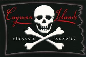 Cayman Islands - Pirate's Paradise - Skull and Cross Bones - Roadside