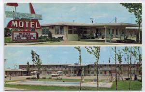 White Sands Motel Route 66 Lebanon Missouri postcard