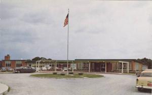 Exterior, Edward A. Utlaut Memorial Hospital, Greenville, Illinois, 1940-1960s