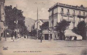 France Aix les Bains Avenue de la Gare