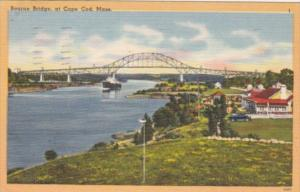 Massachusetts Cape Cod Bourne Bridge 1952