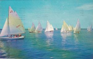 Yachting Greetings From Ship Bottom New Jersey 1963