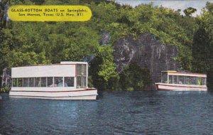 Glass Bottom Boats on Spring Lake San Marcos Texas