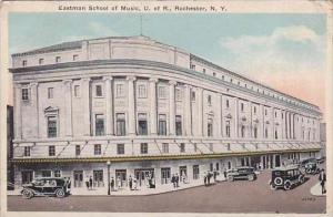 New York Rochester Eastman School Of Music U Of R 1923