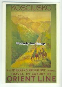 ad3862 - Orient Line Cruises To Australia - Modern Advert Postcard