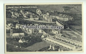 tp9396 - Devon - Aerial View of Dartmoor Prison, & other Buildings - postcard