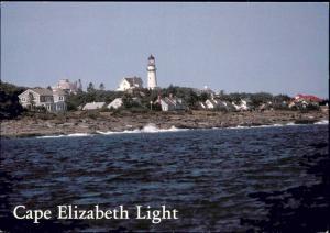 Cape Elizabeth Light, Maine, Lighthouse (1980s) II