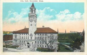 City Hall Worcester Mass.