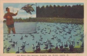 Canada Kingsville Jack Miner's Bird Sanctuary Near Windsor 1945