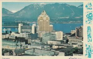 VANCOUVER, British Columbia, Canada, 1959; View of Skyline # 2