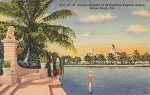 St. Francis Hospital, Miami Beach, Florida, 1930-1940s