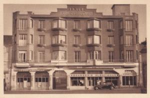 Hotel Mercedes Vesoul Old Postcard