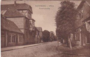 Germany Rotenburg Im Hann Goethestrasse sk3828