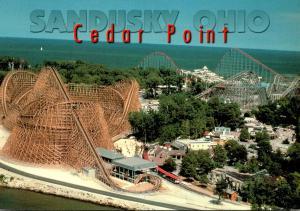 Ohio Sandusky Cedar Point Giant Roller Coaster
