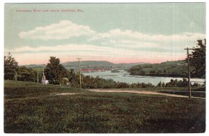 Kennebec River just above Gardiner, Me.
