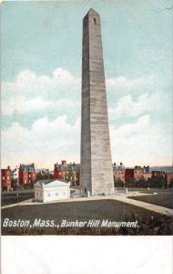 25594 MA, Boston, 1915, Bunker Hill Monument with blue sky backdrop