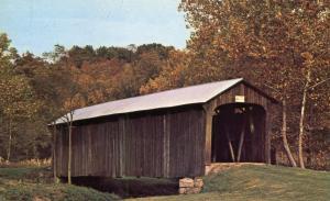 Salt Creek Covered Bridge near Norwich, Muskingum County, Ohio