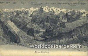 Wetterhorn Berner Oberland Swizerland Unused