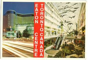 Canada, Eaton Centre, Toronto, 1992 used Postcard
