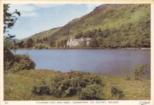 CONNEMARA, Co. Galway, Ireland; Kylemore Lake and Abbey, 50-70s