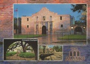 Postcard - TX - Texas The Alamo San Antonia Unposted
