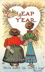 Leap Year Artist August Hutaf 1908
