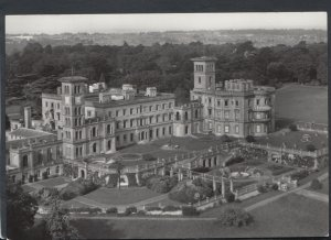 Isle of Wight Postcard - Aerial View of Osborne House     RR4258