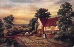 Irish Cottage - A Summer Evening