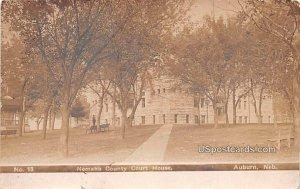 Nemaha County Court House in Auburn, Nebraska