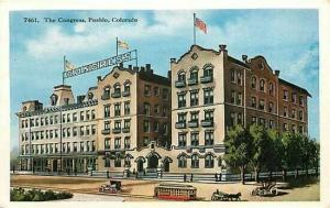 CO, Pueblo, Colorado, The Congress, H H T-Company 7461