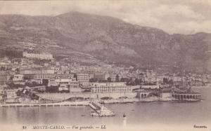 Vue Generale, MONTE-CARLO, Monaco, PU-1975