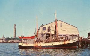 MA - Provincetown, Cape Cod. Fishing Boat