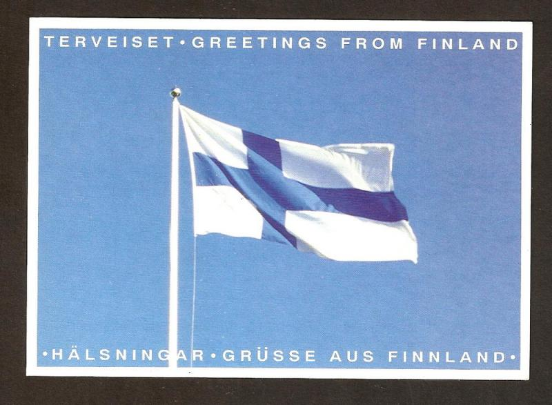 FINLAND POSTCARD UNUSED TERVEISET-GREETINGS FR0M FINLAND