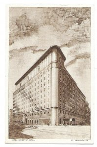 Pittsburgh, Pennsylvania to Chicago Heights, Illinois 1944, Hotel Webster Hall