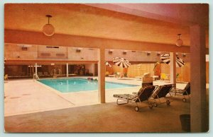 Los Angeles California~Hyatt House Hotel @ International Airport~Pool~1950s
