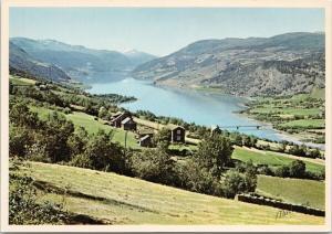 Lake Vagavatnet Norway Norge Normann Postcard D58 UNUSED