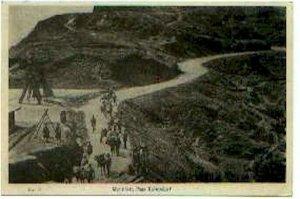 pc283 postcard Katapapar Mountain Pass Japan not postally used