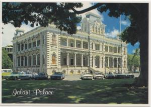 Lolani Palace, Hawaii, unused Postcard