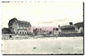 Old Postcard Granville Manche General view of the Casino and Hotels