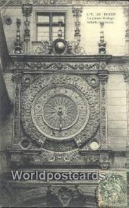 Rouen, France, Carte, Postcard La Grosse Horloge  La Grosse Horloge