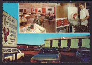 Chez Yvonne Dining Room Cavendish PEI Canada Post Card 5521