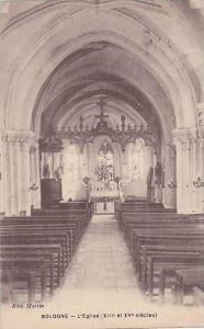 Interior, L'Eglise, Bologne (Emilia-Romagna), Italy, 1900-1910s