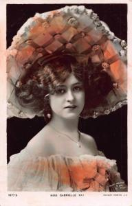 Edwardian Actress Miss Gabrielle Ray Rotary Photo Postcard