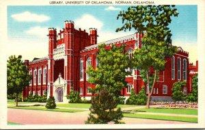 Oklahoma Norman Library University Of Oklahoma