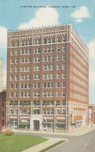 JACKSON , Mississippi, 30-40s ; Lampton Building