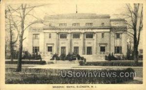 Masonic Temple Elizabeth NJ Unused