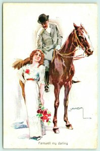 Lottie Usabal~Farewell My Darling~Gentleman on Horse~Lovely Lady Redhead~SSWB