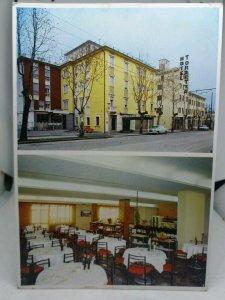 Vintage Postcard Hotel Lugano Hotel Torretta Via Rizzardi Marghera Venezia